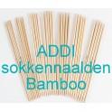 ADDI sokkennaalden Bamboe 15 cm
