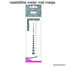 LANA GROSSA/Knitpro Naalddikte meter