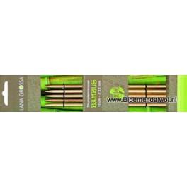 LANA GROSSA/Knitpro bamboe sokkennaalden 15 cm (5)