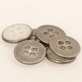 542 Metalen knoop 23 mm