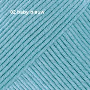 Muskat 02 baby blauw
