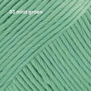 Muskat 03 mint groen