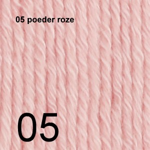 Cotton Merino 05 poeder roze