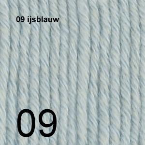 Cotton Merino 09 ijsblauw