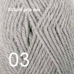 Alaska 03 licht grijs mix
