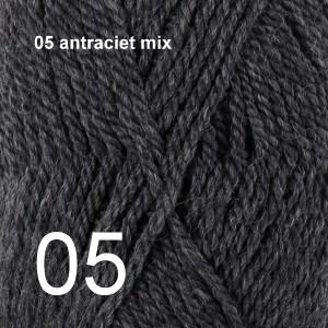 Alaska 05 antraciet mix
