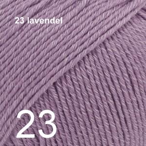 Cotton Merino 23 lavendel