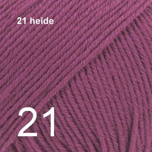 Cotton Merino 21 heide