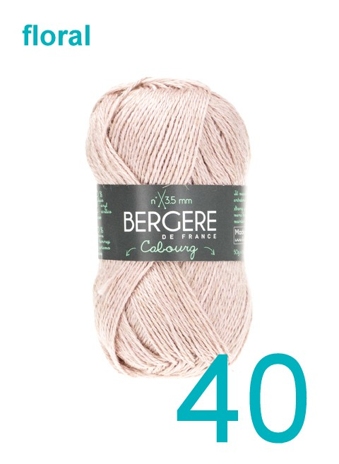 Bergere Cabourg floral 40