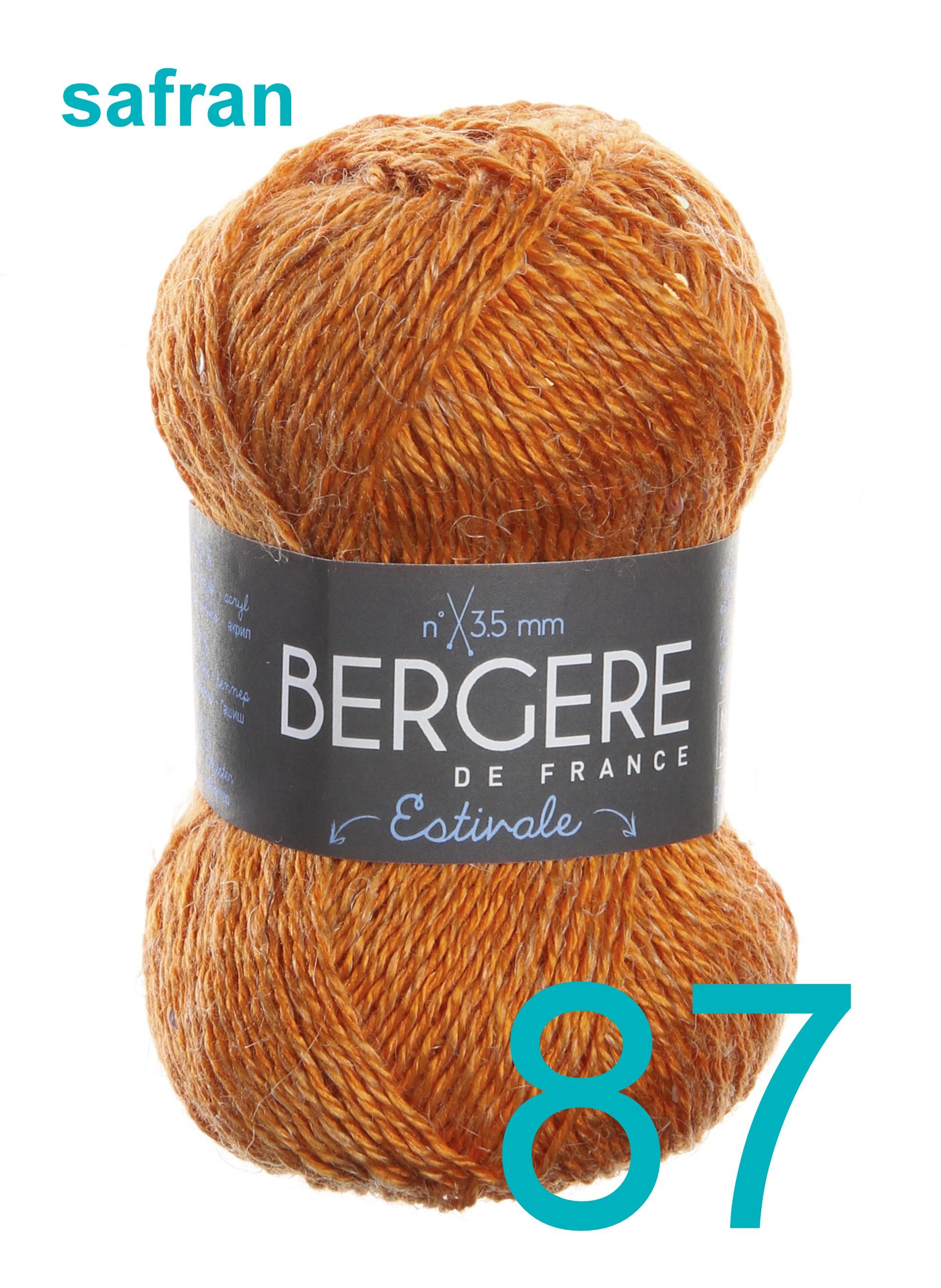 Bergere Ecoton safran 87