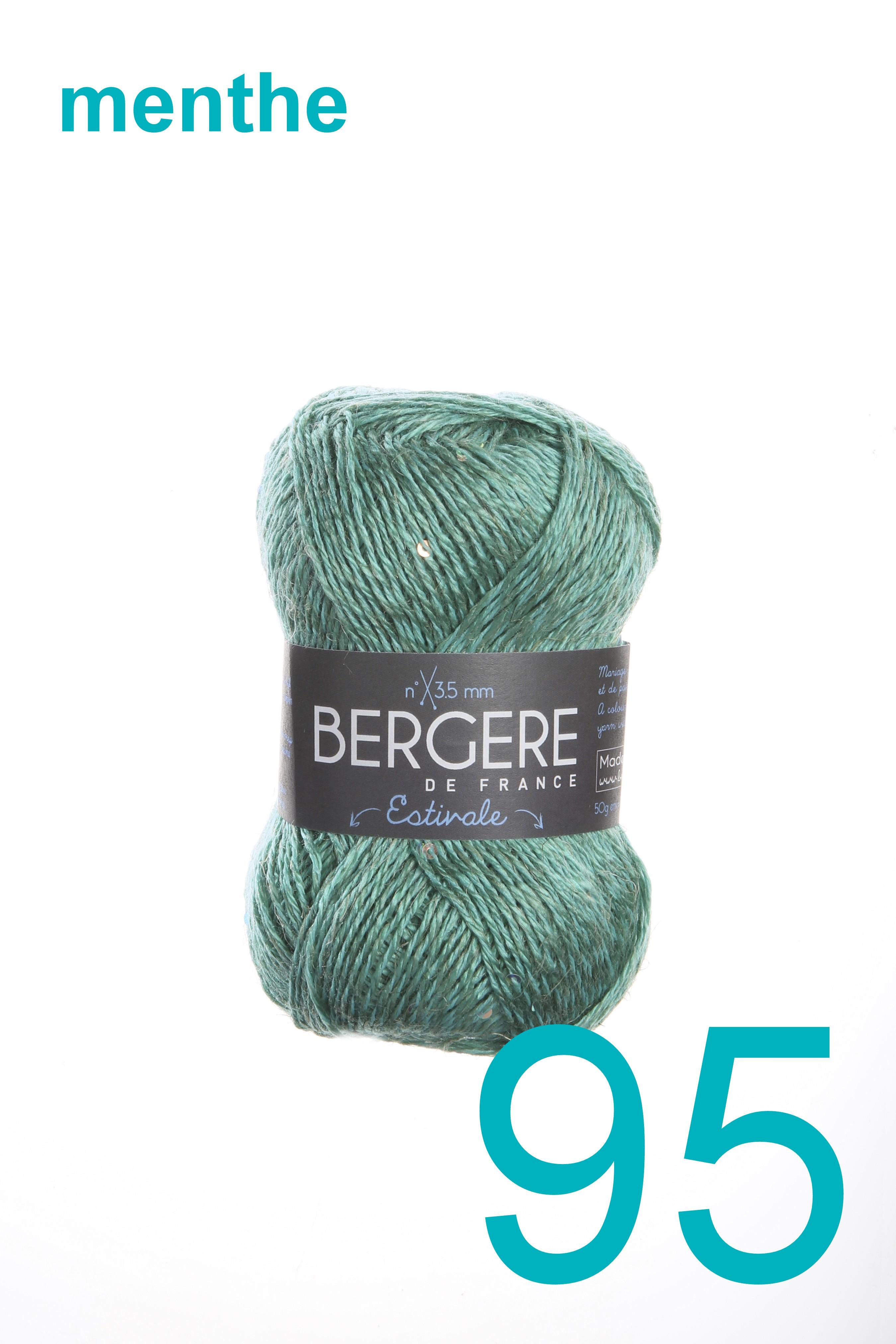 Bergere Ecoton menthe 95