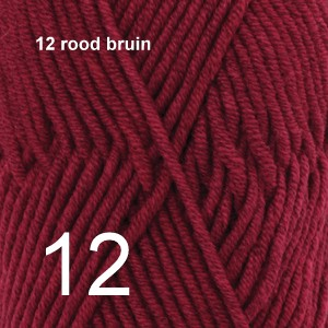 Big Merino 12 rood bruin