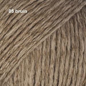 Bomull-Lin 05 bruin