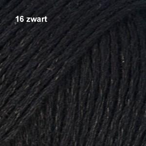 Bomull-Lin 16 zwart