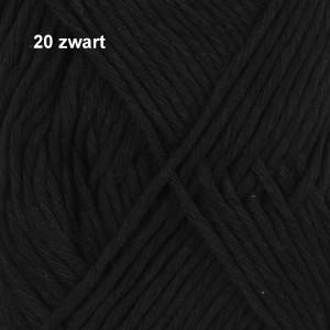 Cotton Light 20 zwart