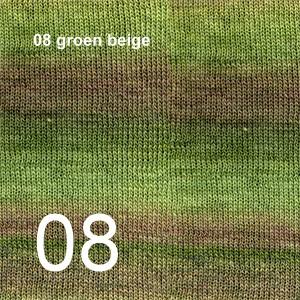 Delight 08 groen beige