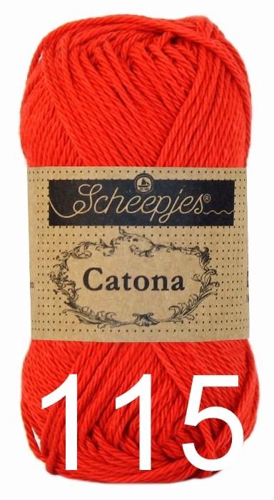 Catona 25 - 115 Hot Red