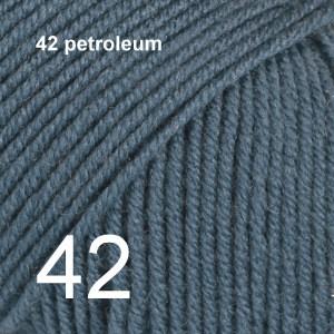 Baby Merino 42 petroleum