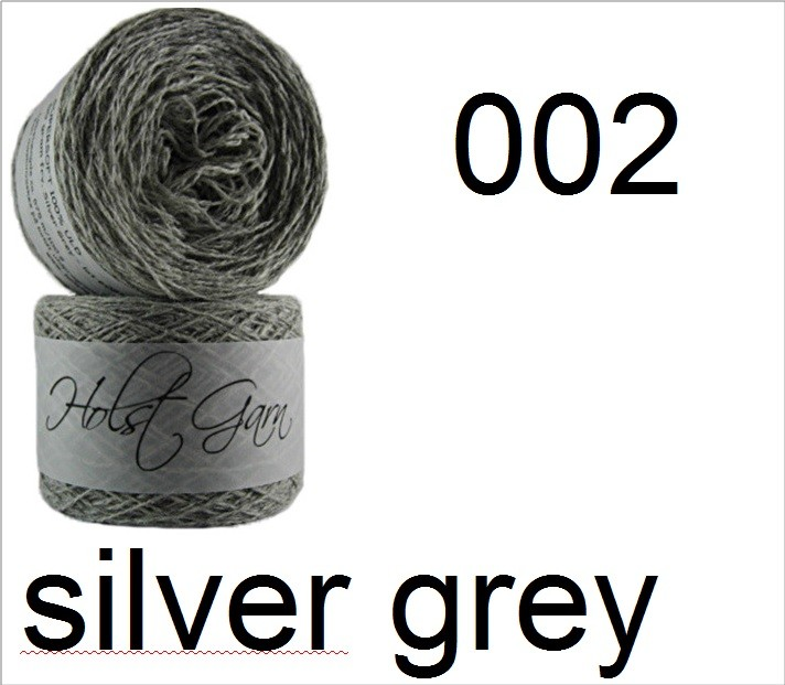 HOLST Supersoft-Wool 002 silver grey