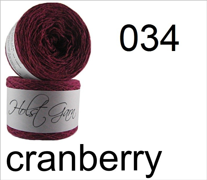 HOLST Supersoft-Wool 034 cranberry