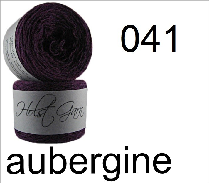 HOLST Supersoft-Wool 041 aubergine