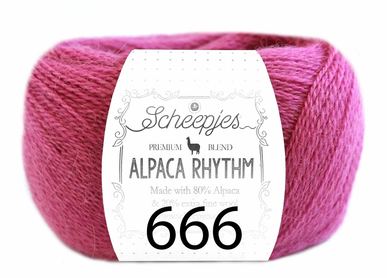 Scheepjes- Alpaca Rhythm 666 Merengue