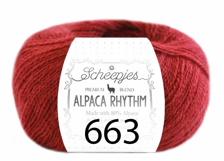 Scheepjes- Alpaca Rhythm 663 Tango
