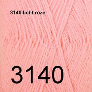 Alpaca Uni Colour 3140 licht roze