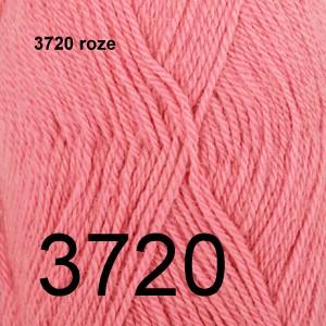Alpaca Uni Colour 3720 roze