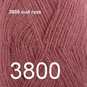Alpaca Uni Colour 3800 oud roze