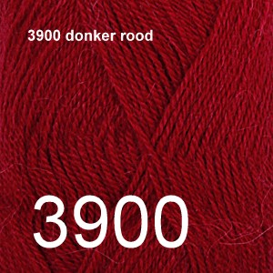 Alpaca Uni Colour 3900 donker rood