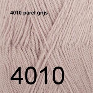 Alpaca Uni Colour 4010 parel grijs