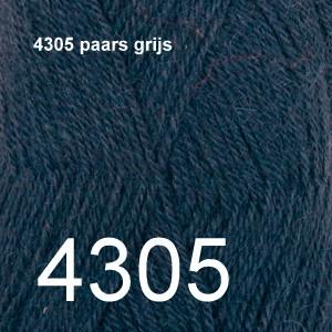 Alpaca Uni Colour 4305 paars grijs