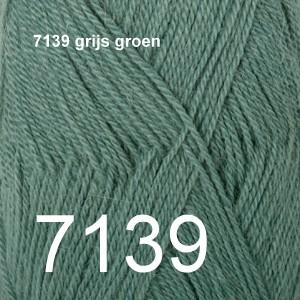Alpaca Uni Colour 7139 grijs groen