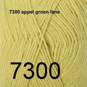 Alpaca Uni Colour 7300 appel groen lime