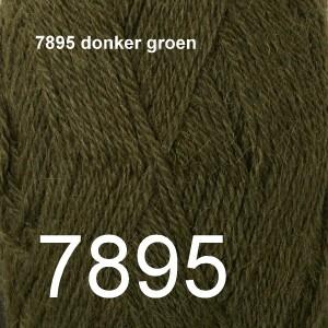 Alpaca Uni Colour 7895 donker groen