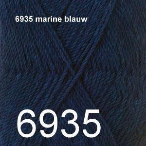 BabyAlpaca Silk 6935 marine blauw