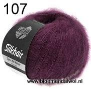 LANA GROSSA Silkhair uni melange 107