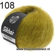 LANA GROSSA Silkhair uni melange 108
