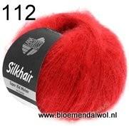 LANA GROSSA Silkhair uni melange 112