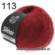 LANA GROSSA Silkhair uni melange 113