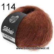 LANA GROSSA Silkhair uni melange 114