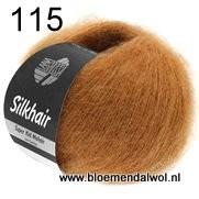 LANA GROSSA Silkhair uni melange 115