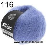 LANA GROSSA Silkhair uni melange 116