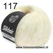 LANA GROSSA Silkhair uni melange 117