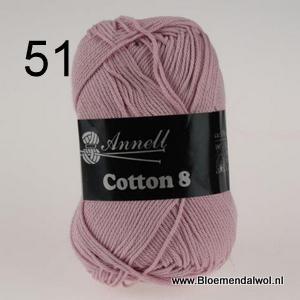 ANNELL Coton 8 -51