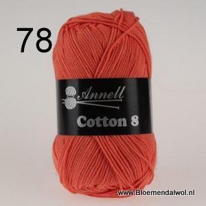 ANNELL Coton 8 -78