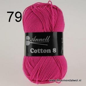 ANNELL Coton 8 -79