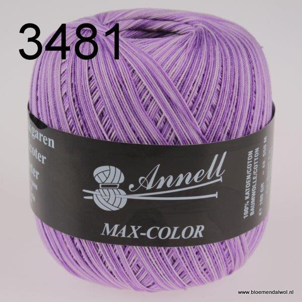 ANNELL Max Color 3481