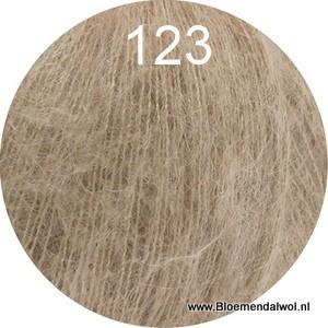 LANA GROSSA Silkhair uni melange 123